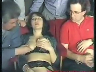 Swinging scene with real sluts