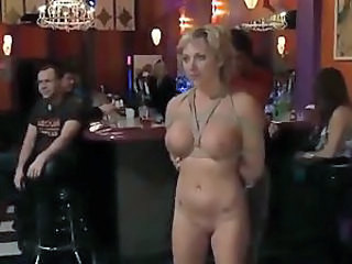 submissive slut abused publicly, Pt.2