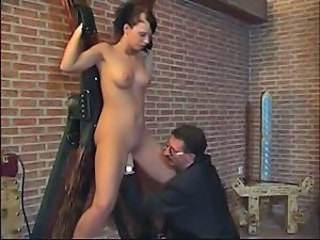 Dirty girl used hard in the dungeon