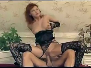 sexy redhead fucked up the ass