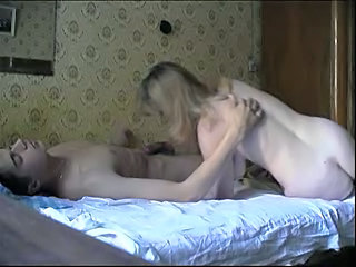 Russian attentive mother