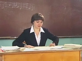 Brunette Russian Teacher
