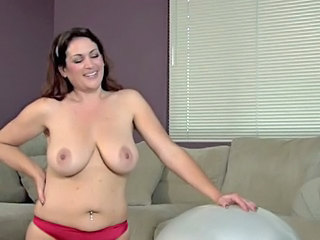 Amazing Big Tits Brunette Mature