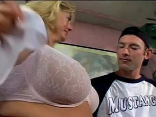 Amateur Big Tits Blonde Mature