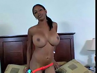 Busty Ebony Slut