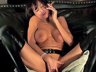 Smoking cigar and squirting