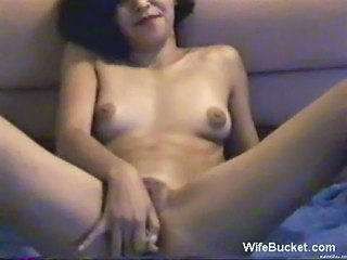 Wife fucking big objects