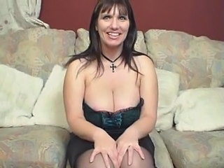 Big Tits British Brunette European Lingerie Mature