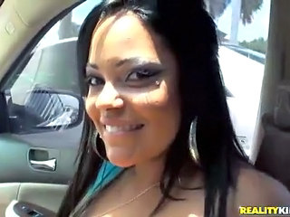 Amateur Babe Car Latina