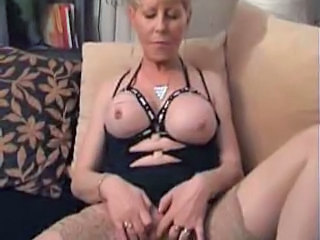 Tarty Granny in Stockings...