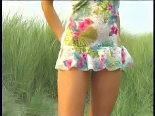 Beach Outdoor Upskirt
