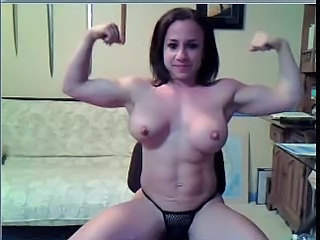 Brunette Muscled Natural