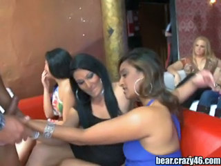 Girls Sucks At Wild Party