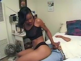Ebony Teen Fucks Her Older...