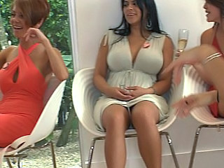 Big Tits Brunette Dancing Drunk Groupsex Outdoor Party