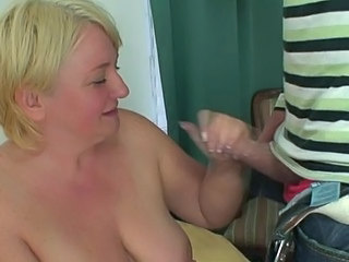 Mature is fucking her daughter hubby