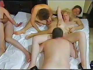 Blowjob Groupsex Licking Mature Swingers Wife