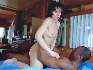 Swinger wife slut creampied by black lover - snake