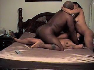Black Amateur Threesome