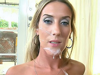 Cute blue eyed MILF Gianna