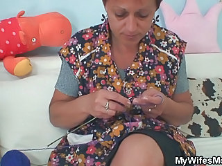 Granny Seduces Her Daughter