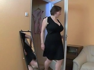 Busty German MILF bang