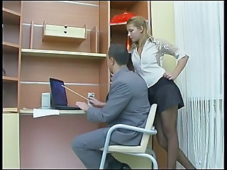 Beautiful Russian Lady Is Fucked In Nylons