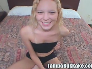Blonde Bukkake Cute