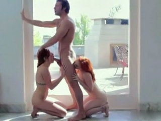Sex with two redheads
