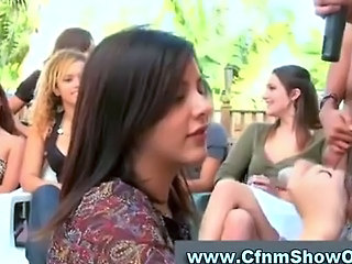 Amateur Blowjob CFNM Handjob Party Public