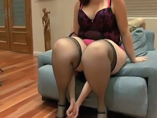 Facesitting Lingerie Stockings