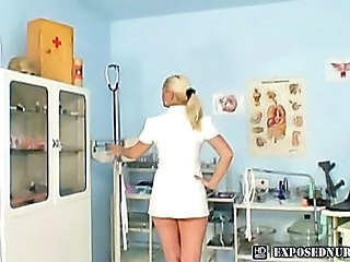 Amateur Big Tits Blonde Nurse Uniform