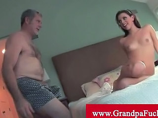 Missy Stone Enjoys Old Man Cock