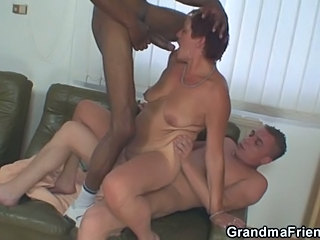 Two Guys Having Fun With A Slut At Work