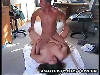 Chubby Amateur Wife Fucked On The Floor