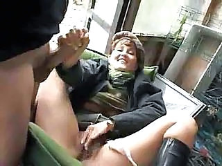 She Takes A Piss And She Gets Fucked