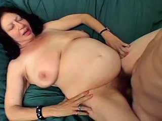 Hey My Grandma Is A Whore And Gagging With A Hard Dick
