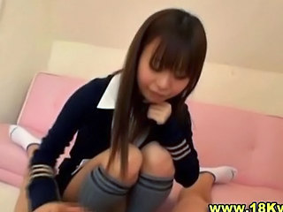 Sweet Japanese Schoolgirl Teen