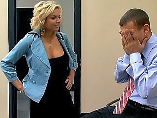 Big Tits Blonde Hardcore Office Pornstar Secretary
