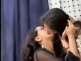 Amateur Indian Kissing Lesbian