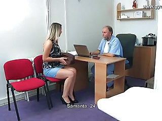 Amateur Blonde Doctor Pornstar Skirt