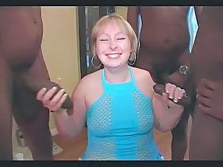 BBW Chubby Gangbang Interracial Mature