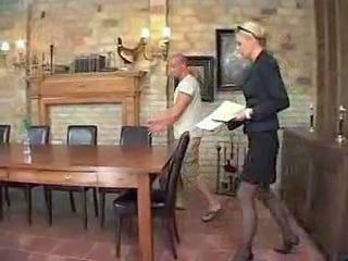 Mature lady forced to make a deal...anal and abused