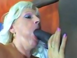 Horny 60 Year Old Enjoys Some Black Dick!!!