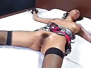 Asian Bondage Fisting