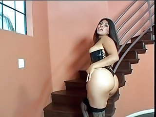 Big Booty Hairy Latina Chick Get Ravafed By Two Blac...