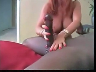 Cheating Mature Wife Sucking Huge Black Shaft