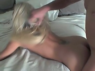 I fucked my GF hard from behind