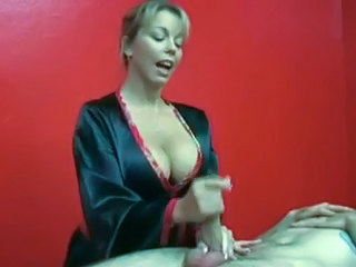 Big Tits Handjob Massage MILF