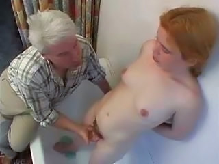Hairy Old and Young Redhead Skinny Small Tits
